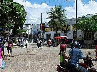 Leticia, Amazonas - Downtown Leticia.