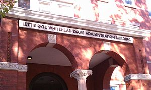 Lettie Pate Whitehead Evans - Lettie Pate Whitehead Evans Administration Building