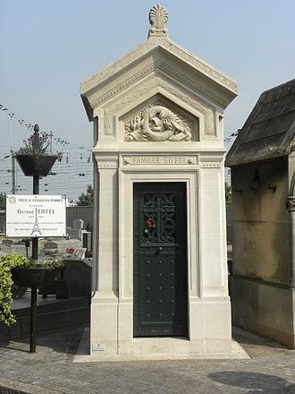 Levallois-Perret Cemetery - Image: Levallois Perret Sepultre Eiffel