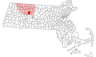 Leverett, Massachusetts - Image: Leverett ma highlight