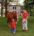"Lexington, Kentucky - Kentucky Horse Park ""Here, Taste This!"" (3533830334) (2).jpg"