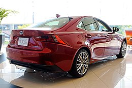 Lexus IS300h 2013 japan Rear.JPG
