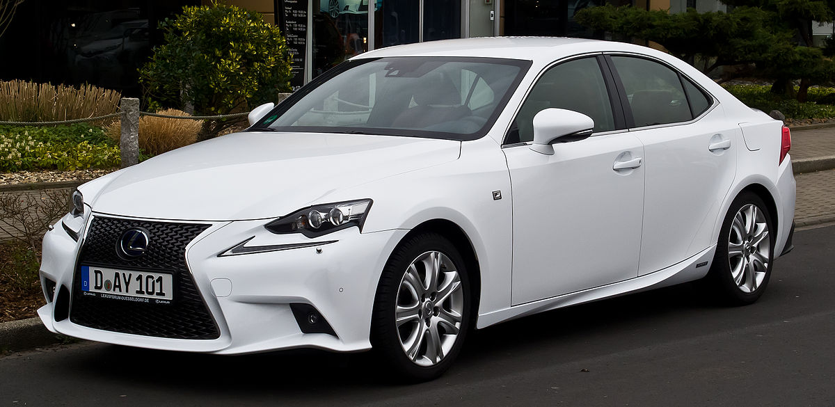 2014 Lexus Is350 F Sport Specs >> Lexus IS - Wikipedia