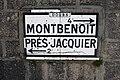 Lièvremont, plaque Michelin - img 44170.jpg