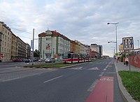 Libeň, Českomoravská a Drahobejlova, tramvaj.jpg