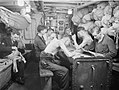 Life on Board Hm Corvette Widgeon, August 1943, in the North Sea and at Harwich, Men of the Corvette Widgeon Go About the Everyday Jobs of Their Wartime Routine. A18544.jpg