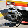 Light rail train coupler detail - 2006.jpg