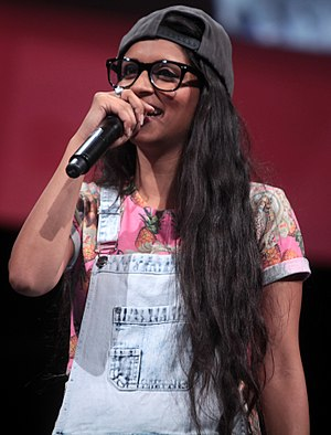 "Canada's Lilly Singh, known by her YouTube username ""IISuperwomanII"", is a popular YouTube personality of Indian origin. Lilly Singh by Gage Skidmore.jpg"