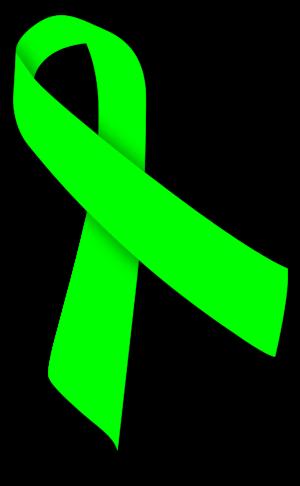 Green ribbon - Image: Lime Ribbon