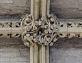 Lincoln Cathedral, Angel Choir Roof Boss, 4th from East (27884577339).jpg