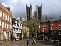 Lincoln Cathedral after a rain shower - geograph.org.uk - 154903.jpg