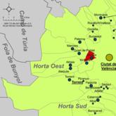 Localització de Mislata respecte de l'Horta Oest.png