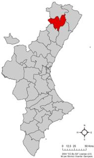 Alt Maestrat Comarca in Valencian Community, Spain