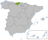 Cantabria en en España