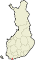 Location of Ekenas in Finland.png