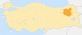 Locator map-Erzurum Province.png
