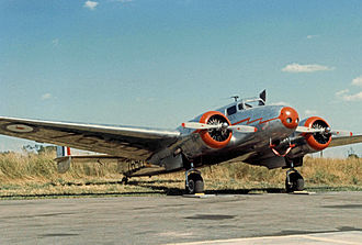 Bata Shoes - Lockheed 10 Electra executive aircraft operated before the Second World War by Bata in Europe