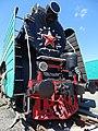 Locomotive at Brest Railway Museum - Brest - Belarus - 03 (27204207830).jpg