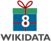 Logo eight Wikidata Birthday.png
