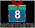 Logo eight Wikidata Birthday.png