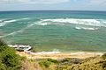 Looking out to the Ocean from below Diamond Head (5903367374).jpg