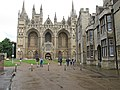 Looking to Peterborough Cathedral from the Outer Gate (geograph 5021098).jpg
