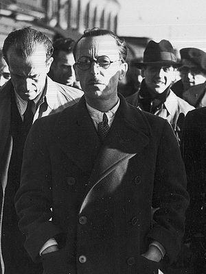 Segismundo Casado - Segismundo Casado upon his arrival to the United Kingdom, fleeing from Franco's victory