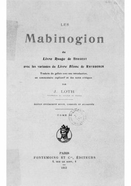 File:Loth - Mabinogion, tome 2.djvu