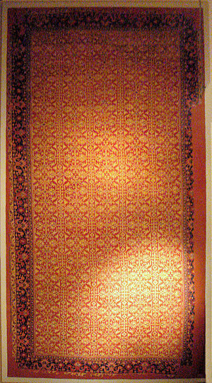 Lotto carpet - Image: Lotto carpet Western Anatolia Usak 16th century