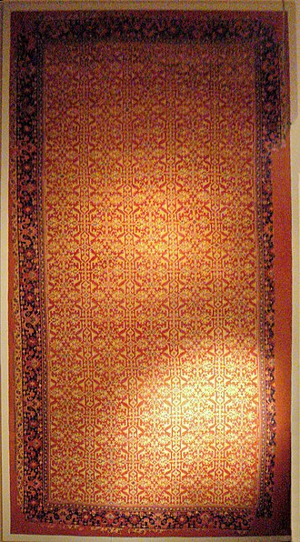 Turkish and Islamic Arts Museum - Image: Lotto carpet Western Anatolia Usak 16th century