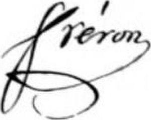 Louis-Marie Stanislas Fréron - Image: Louis Fréron Signature