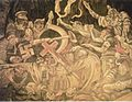 Lucha de la 2da Guerra Mundial (pintura de Diego Rivera).jpg