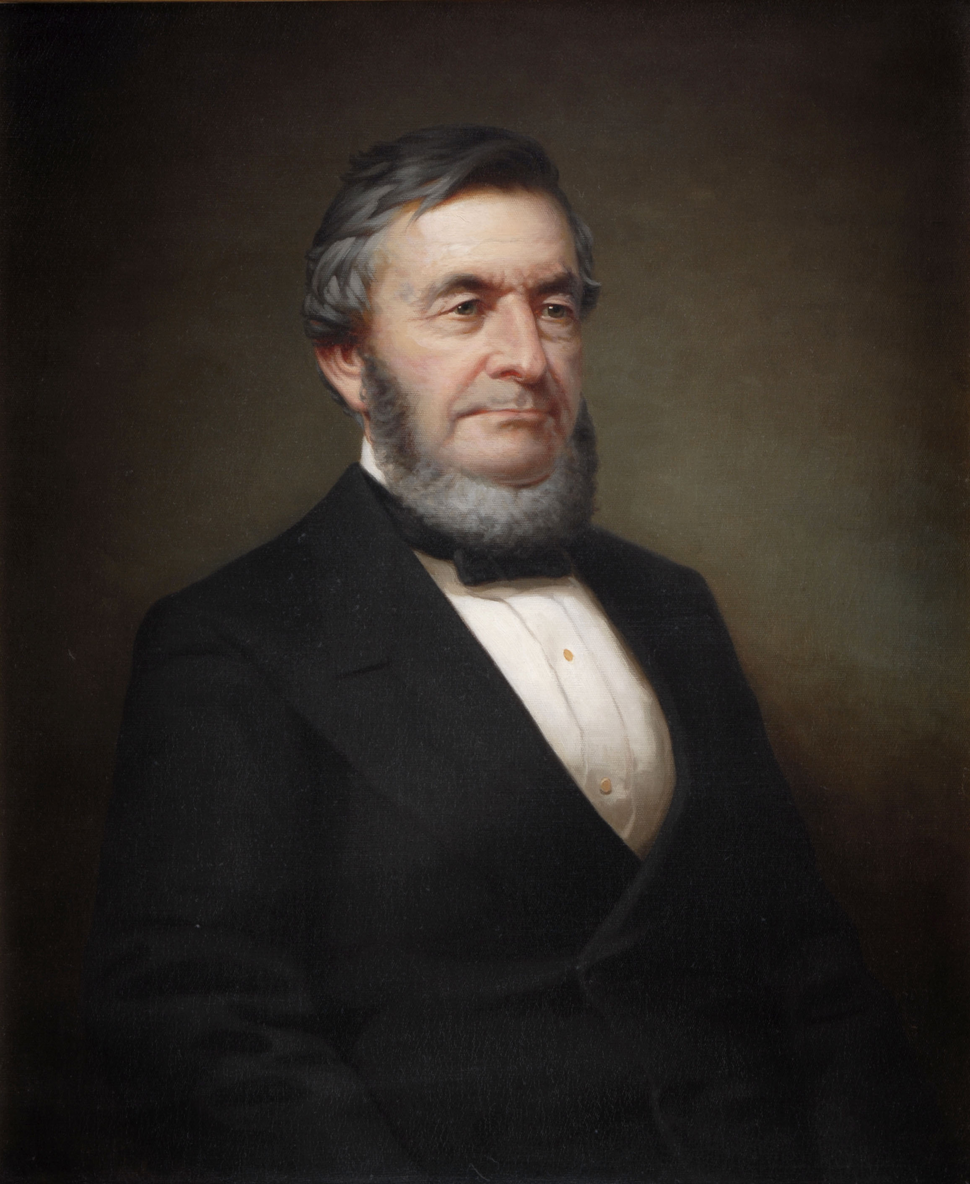 Lucius Robinson (portrait by George Waters)