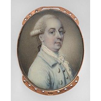 Henry Cruger - Portrait of Cruger by Luke Sullivan, 1770.