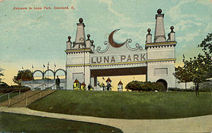 One of the first of Frederick Ingersoll's Luna Parks, Luna Park, Cleveland was a amusement park from 1905 until its demise in 1929.