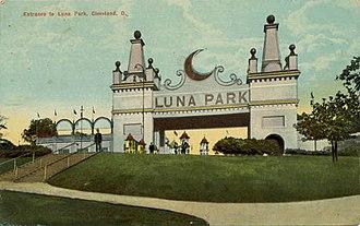 Luna Park, Cleveland - Image: Luna park cleveland entrance