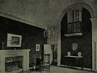 Folly Farm, Sulhamstead - The neoclassical hall, 1921