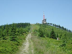 Lysá hora - Image: Lysá Hora sjezdovka