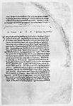 Der Anfang des Lysis in der ältesten erhaltenen mittelalterlichen Handschrift, dem 895 geschriebenen Codex Clarkianus