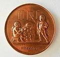 Médaille en cuivre. Société pour l'instruction élémentaire. 1889. Graveur DOMARD Joseph François (1792-1858). 1815. 41 mm, 34 gr (1).JPG