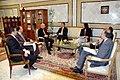 M. Hédi ben Abbès reçoit M. Gordon Gray, Ambassadeur des Etats-Unis d'Amérique à Tunis (6651593303).jpg