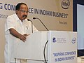 "M. Veerappa Moily addressing at the inauguration of a Conference on Corporate Governance ""INSPIRING CONFIDENCE IN INDIAN BUSINESS"", organised by the Indian Institute of Corporate Affairs (IICA), in New Delhi.jpg"