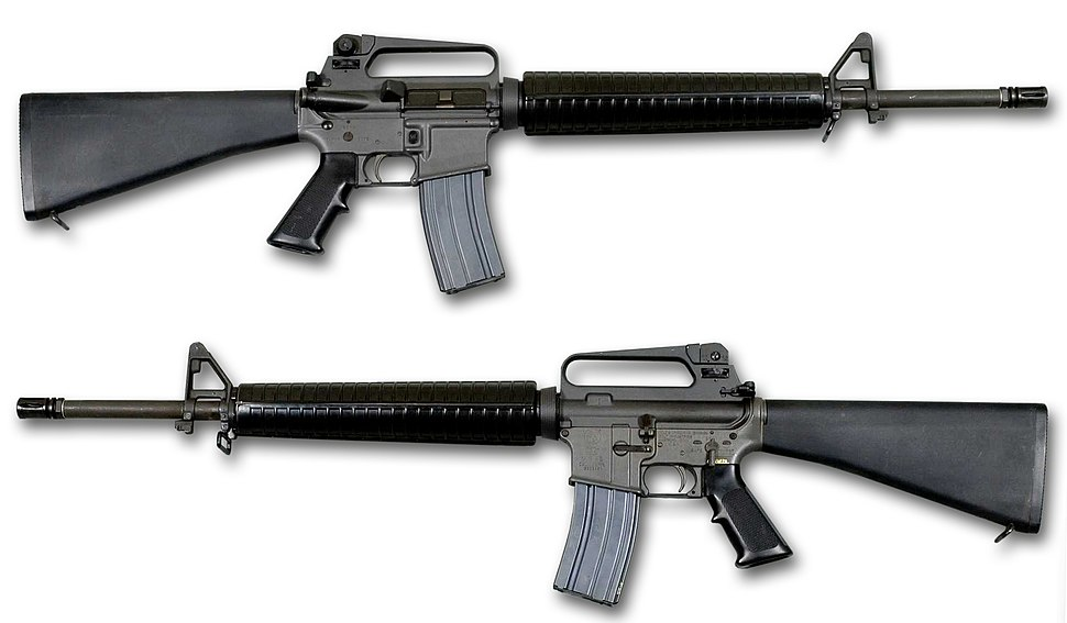 M16 rifle - Howling Pixel