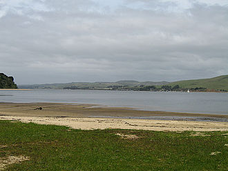 Tomales Bay State Park - Tomales Bay from Heart's Desire Beach, Tomales Bay State Park