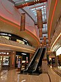MC JW Marriott 澳門銀河 Galaxy Macau mall The Promenade interior escalators Jan 2017 IX1.jpg