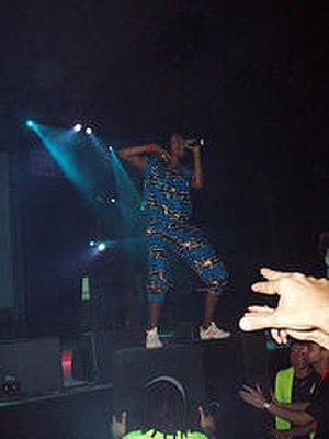 Arular - M.I.A. performing at the 2005 Sónar festival