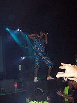 Arular - M.I.A. performing at the 2005 Sónar festival
