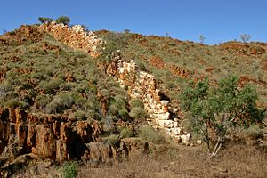 "Halls Creek, Western Australia - The so-called ""China Wall"""