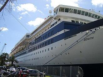MV Zenith - Image: MV Zenith in Bermuda