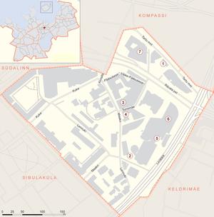 Карта микрорайона Маакри